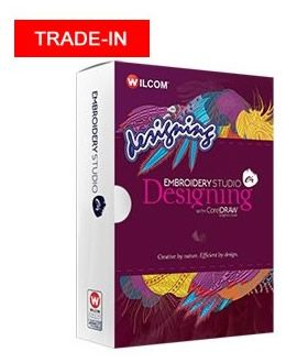 Trade In Wilcom Embroidery Studio e4.5 Designing